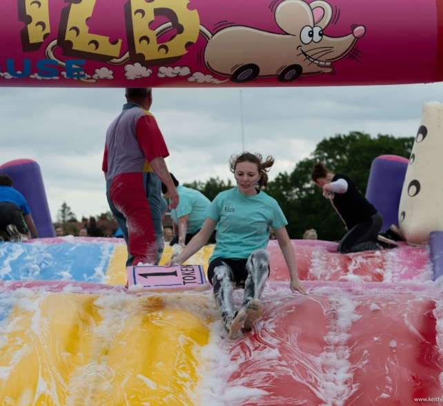 Thanks for your It's a Knockout support!