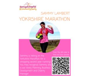 Sammy Lambert takes on the Yorkshire Marathon!