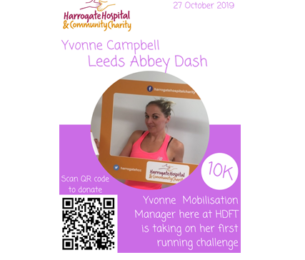 Yvonne Campbell takes on Leeds Abbey Dash