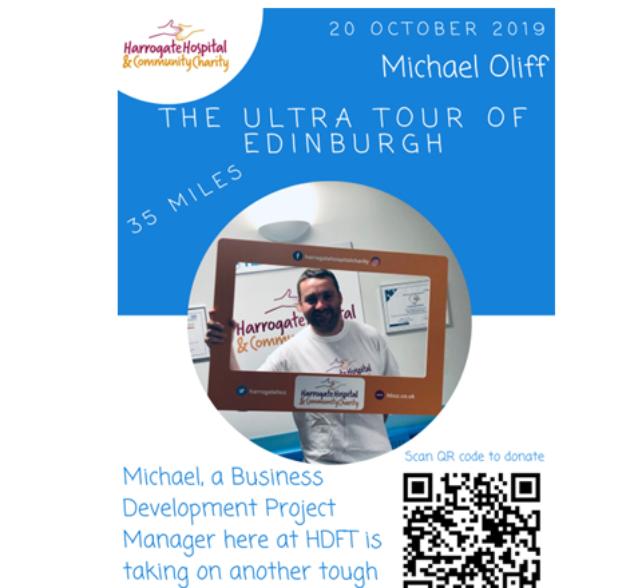 Michael Oliff takes on The Ultra Tour of Edinburgh