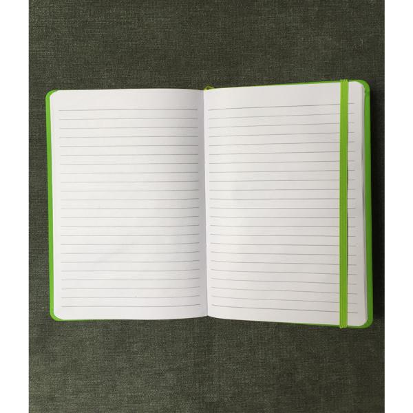 HHCC notebook green