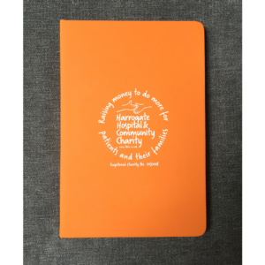 HHCC notebook orange