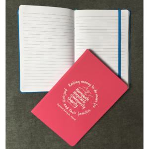 HHCC notebook pink