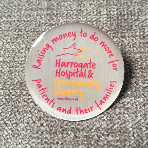 HHCC pin badge