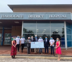 24,000 face masks donated to Harrogate District NHS Foundation Trust