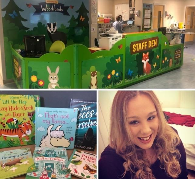Book raffle to raise money for children's ward at Harrogate District Hospital