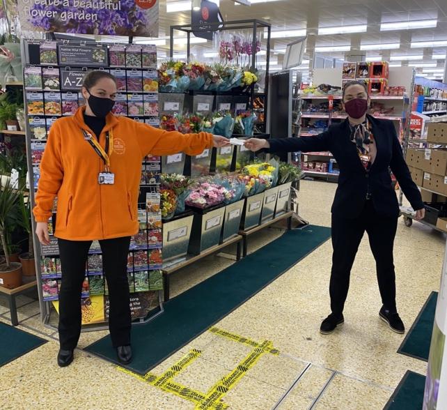Sainsbury's Harrogate Superstore Generous Donation