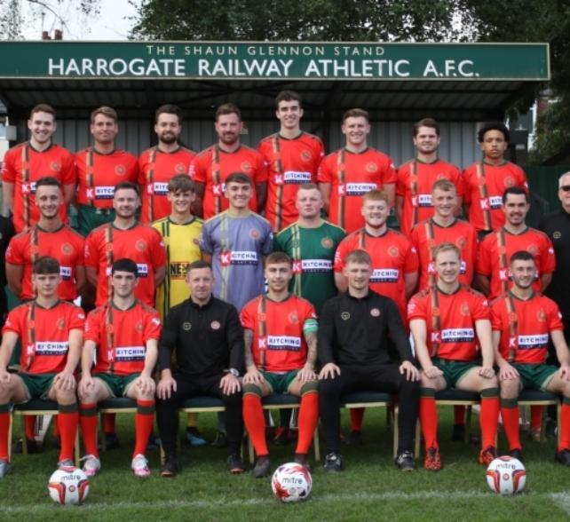 Harrogate Railway Athletic Football Club take on the Yorkshire Three Peaks