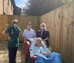 The Cleeves and Whitehead Trust funds specialised seating for patients