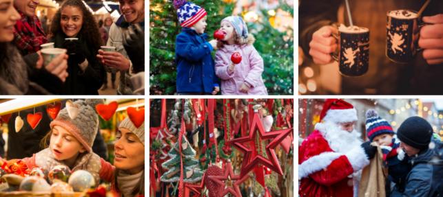Outdoor Pop up Christmas Market